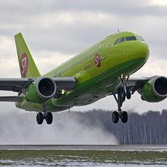 В Новосибирске перед взлетом загорелся самолёт