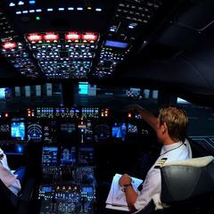 Пилоты о необходимости выключать свет в самолете при посадке