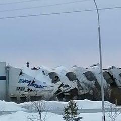 В Кузбассе рухнула кровля вагоностроительного завода