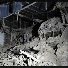 Опубликовано видео последствий мощного землетрясения в Турции