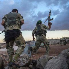 Протурецкие боевики бросили оружие ради видео атаки ВКС РФ