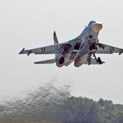 В Чёрном море разбился истребитель Су-27 - подробности