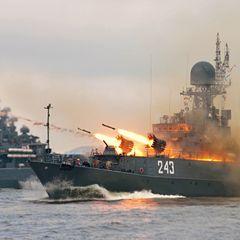 Россия ответила стрельбами на визит кораблей НАТО