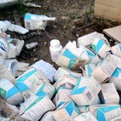 В российском городе обнаружена свалка лекарств на 6 миллионов