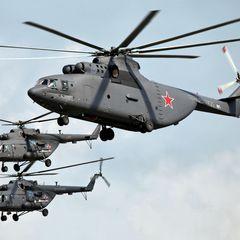 Россия подняла в небо вертолеты на границе Армении и Азербайджана