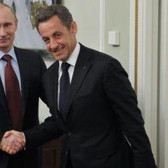 Саркози не поделил шоколадку с Путиным на саммите G8