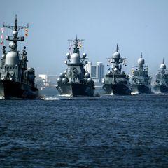 Иностранцы высмеяли военно-морской парад в РФ
