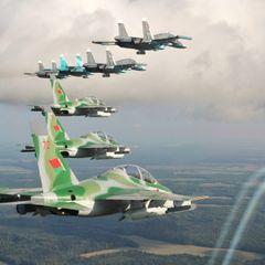 Военный самолет Белоруссии снова замечен в России