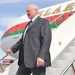 СМИ: Самолет Лукашенко засветился в Швейцарии