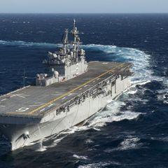 США готовят огромные необитаемые десантные корабли
