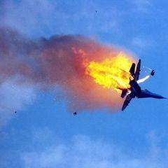 Истребитель Су-30 потерпел крушение в России