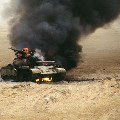 Армянские военные показали видео уничтожения азербайджанских танков