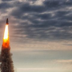 Ракета неизвестного происхождения нанесла удар по Дагестану