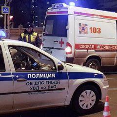 В российском городе перевернулся автобус с детьми - видео