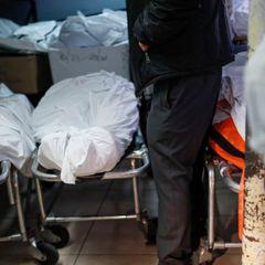 В подвале российского госпиталя скопились тела умерших пациентов