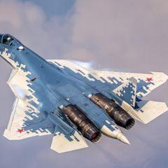 ВКС России получили первый серийный Су-57