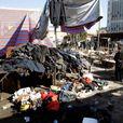 Смертники подорвали рынок, 31 человек погиб (видео)