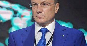 Греф рассказал об угрозах после убийства в Петербурге