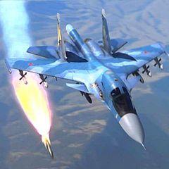 Российский истребитель уничтожил 10 турецких БТР одним ударом