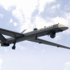 Беспилотник РФ «Орион» управляемой ракетой поразил самолёт