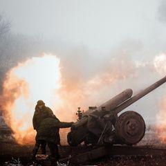 Армия Украины нанесла артиллерийский удар по ЛНР