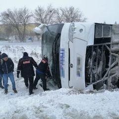 Автобус с русскими туристами попал в смертельное ДТП в Турции