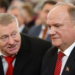 Жириновский сообщил об уходе Зюганова