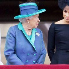 Елизавета высказалась об отсутствии Меган Маркл на похоронах мужа