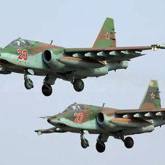 Более 50 военных самолётов переброшены в Крым