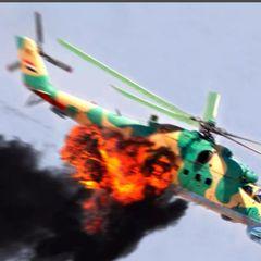 Сирийские боевики атаковали вертолет ВКС России