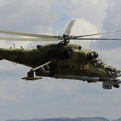 Боевики сбили вертолёт Ми-35, экипаж погиб