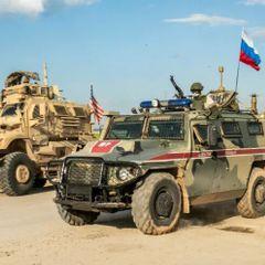 Российский военный патруль попал под обстрел на севере Сирии