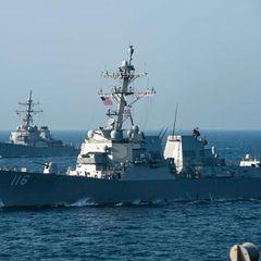Патрульный катер ВМС США направляется в Чёрное море