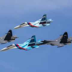 Россия перебросила в Крым больше 50 истребителей - видео