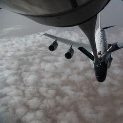 Самолет ВВС США провел разведку у границ России