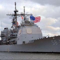 Ракетный крейсер США сломался при попытке «устрашения» ВМФ РФ
