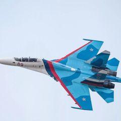 «Воздушный скальпель» Су-27 напугал НАТО в Баренцевом море