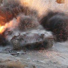 ВСУ случайно уничтожили свой блокпост с бронетехникой в Донбассе