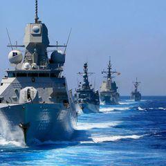 Британский военный корабль перехвачен российским флотом