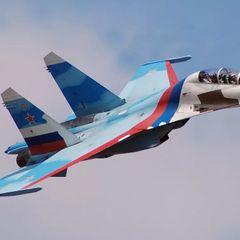 Пилот Су-27 наказал моряков ВМС США - за что