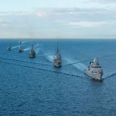 Россия отправила к побережью США 50 боевых кораблей