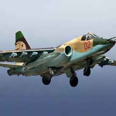 Опубликовано видео уничтожения штурмовика Су-25 над Карабахом