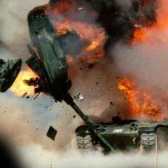 Появилось видео уничтожения российским ПТРК «Конкурс» танка США