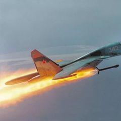 Минобороны РФ показало последствия авиаудара истребителя Су-34