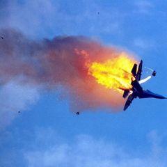 Истребитель МиГ-29 разбился в Чёрном море