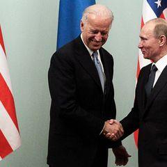 Как Байден отреагировал на шутку Путина