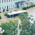 Керчь ушла под воду: мощные фото и видео крымского апокалипсиса