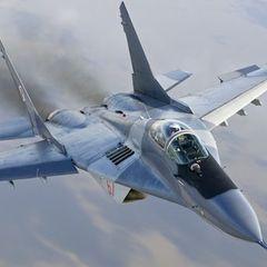Истребитель МиГ-29 рухнул в Черное море