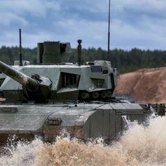Проблема для НАТО: Съемка выстрела танка Т-14 «Армата»