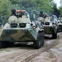 Россия начала переброску в Крым бронетехники и тяжёлой артиллерии